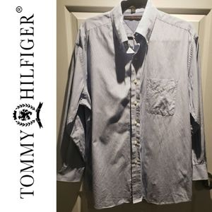 Tommy Hilfiger Striped Long Sleeve Button Down